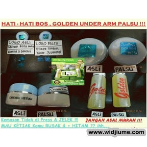 Pemutih Ketiak Golden Under Arm  5+golden+under