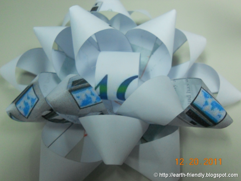 Paper ribbon Top Layer