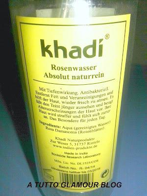 acqua di rose khadi, proprietà, utilizzi, applicazioni