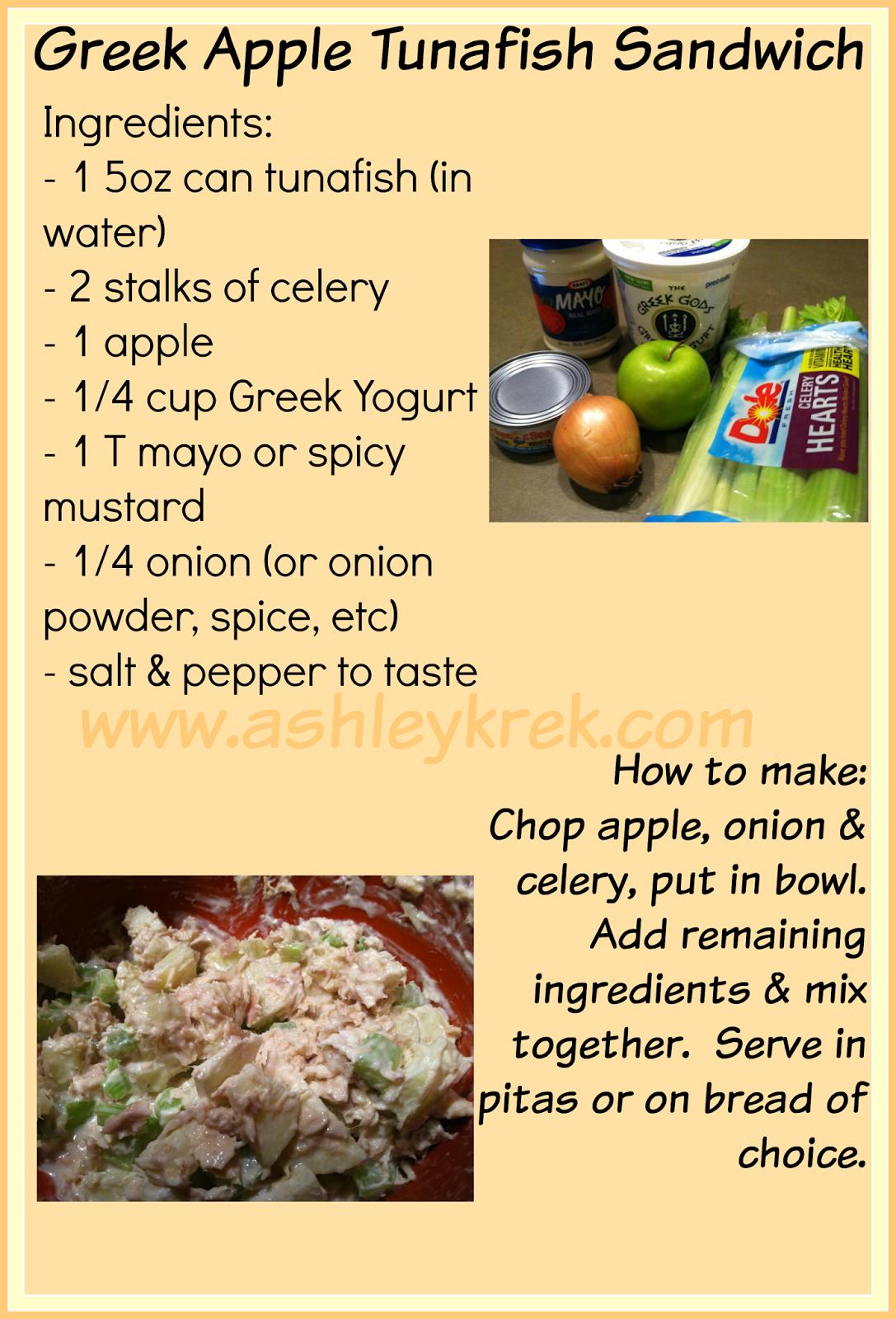 Healthy Tunafish Sandwich