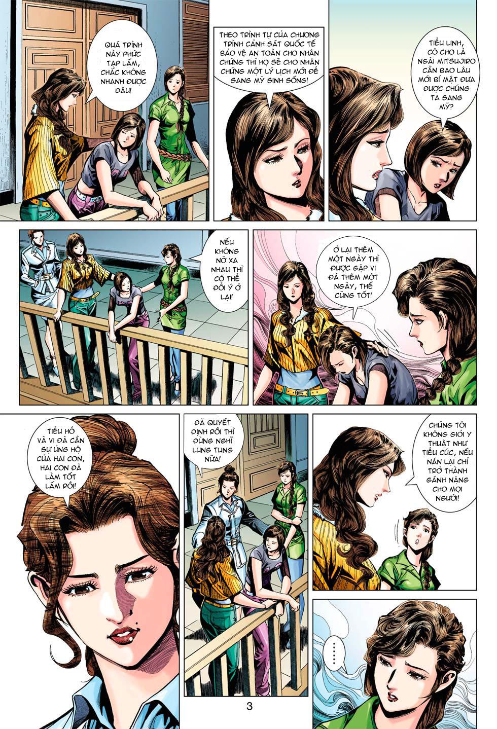 Tân Tác Long Hổ Môn chap 369 - Trang 3