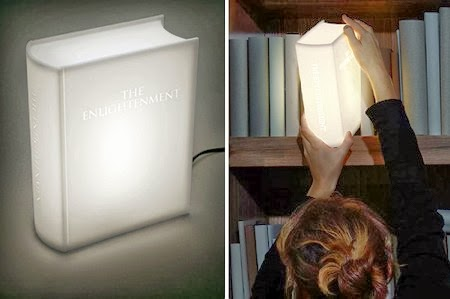 Valentine's Day Gifts for Book Lovers - Book Shaped Light