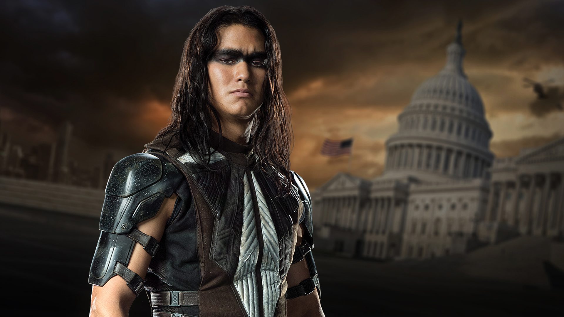 booboo stewart as warpath in x men days of future past 2014 movie hd    X Men Warpath Booboo Stewart