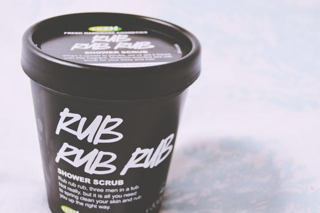 Review of Lush Rub Rub Rub