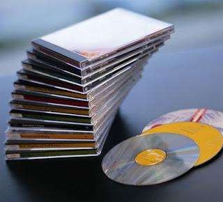 A indústria de CD e DVD