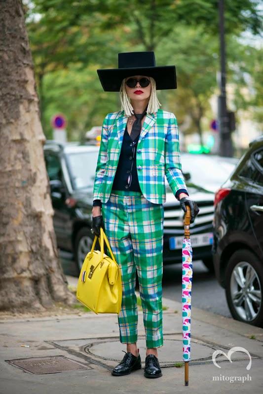 mitogrph Natalya Bogacheva Before Gareth Pugh Paris Fashion Week 2014 Spring Summer PFW Street Style Shimpei Mito