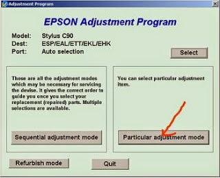 Cara Reset Printer Epson C90