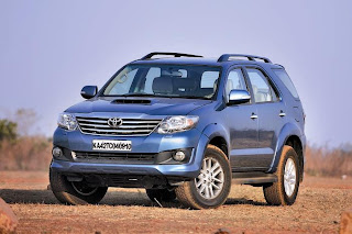 new toyota fortuner front lokk and view