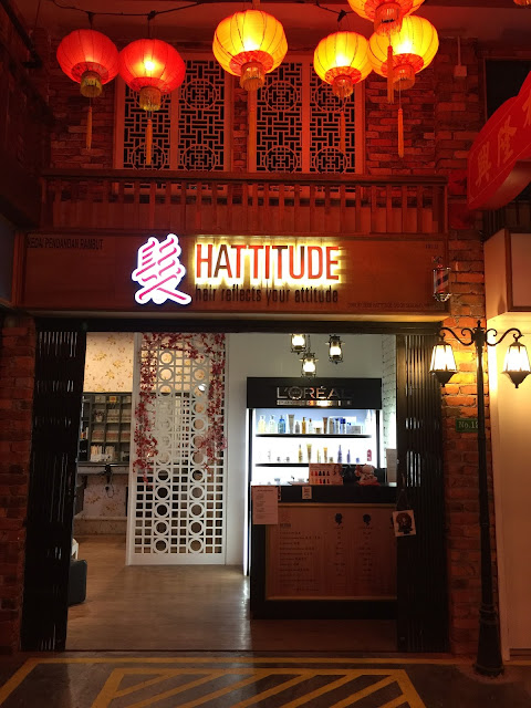 Hattitude Salon at Setia Walk, Puchong