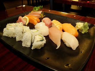Sushi and Sashimi