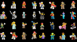 ... karakter kartun hingga tokoh terkemuka dunia dalam tampilan LEGO