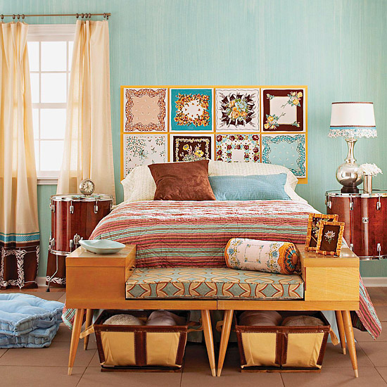 Ulyzone++ / Unusual Magazine: 10 cabeceras para cama de objetos ...