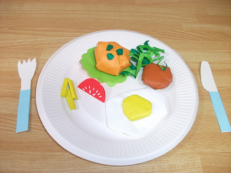 Preschool education for kids january 2012 for Food crafts for preschoolers