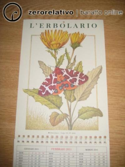 calendario l'erbolario