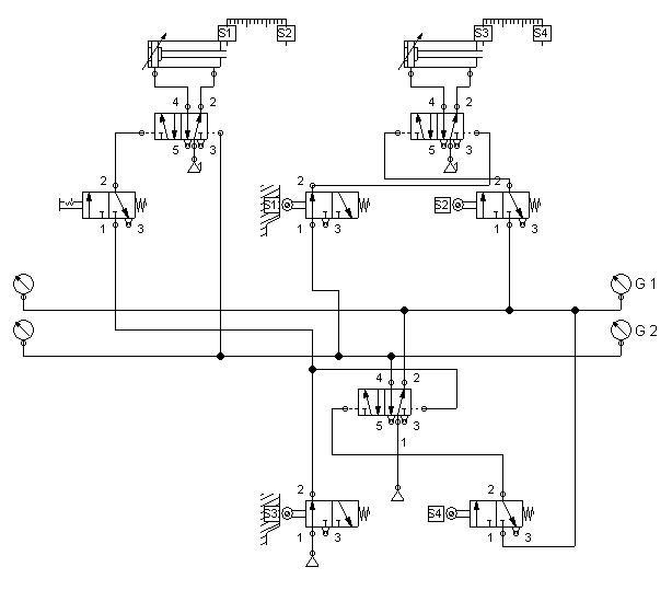 Circuito Neumatico Simple : Ingeniería electrónica víctor calderón circuitos