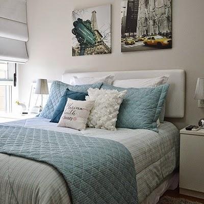 Contos de casa como arrumar ou decorar a cama - Decorar cama como sofa ...