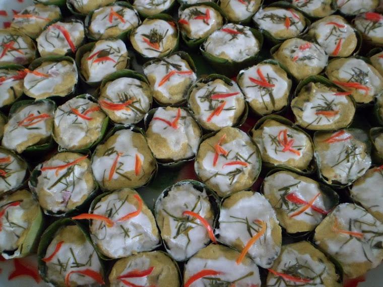 ห่อหมกปลา+ขนมจีนแสนสบาบ