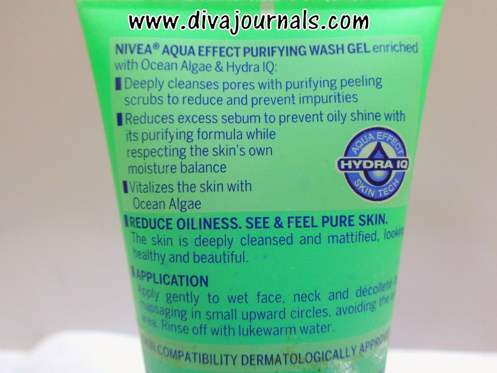 Nivea Aqua Effect Purifying Face Wash Gel Review