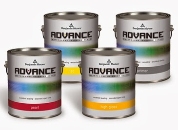 Benjamin Moore Advance waterborne alkyd Iron Mountain