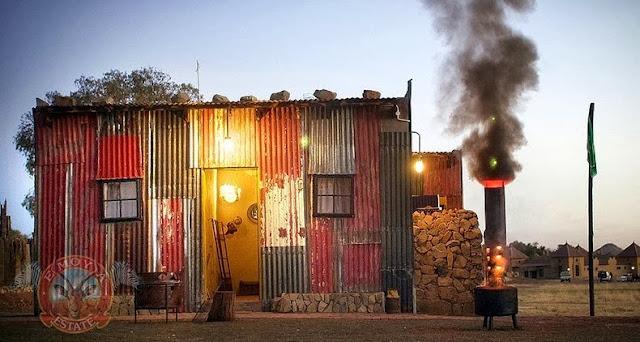Shanty Town: un resort con temática de barrio marginal para el insípido rico