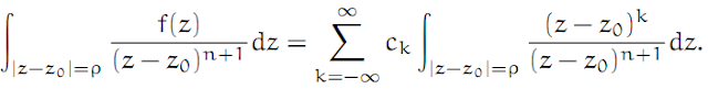 Complex Analysis: #15 The Laurent Series equation pic 7