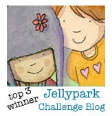 I was a top winner at Jellypark!