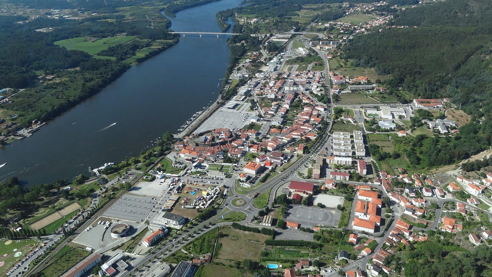 A terceira dimens o fotografia a rea vila nova de cerveira - Vilanova de cerveira ...