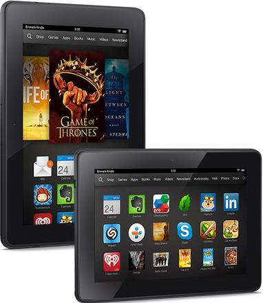Amazon Kindle Fire HDX 7 and 8.9 Specs: Powerful Media and Entertainment Tablet at Competitive Price
