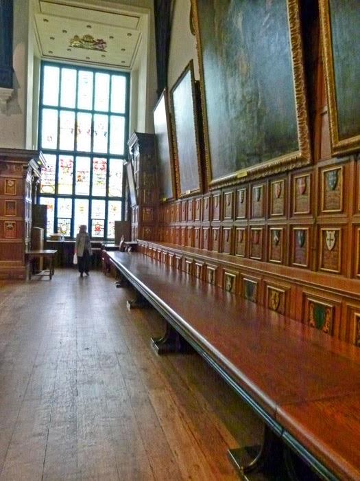 Middle Temple Hall, Bench Table, Queen Elizabeth I, Windsor oak