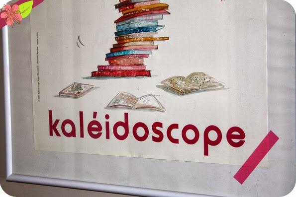 Sa nouvelle affiche de Marianne Barcilon aux éditions kaléidoscope