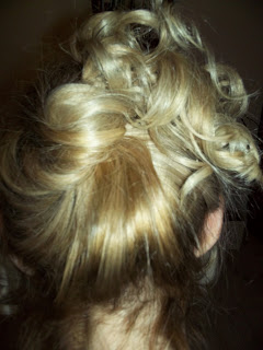 színátmenetes szőke haj