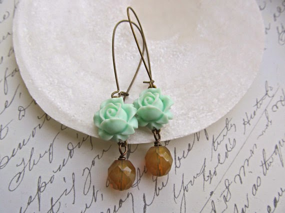https://www.etsy.com/listing/188091975/mint-rose-earrings-beige-opal-earrings