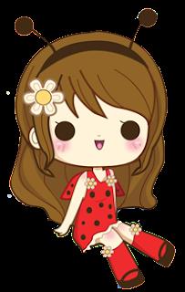doodle cute, doodle comel, doodle girl