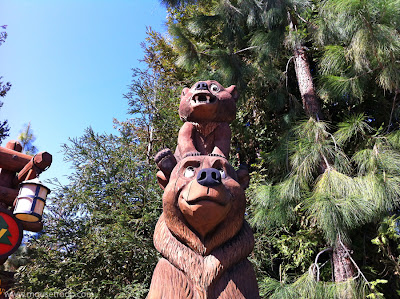 Kenai Koda Brother Bear DCA statue Disney California Adventure