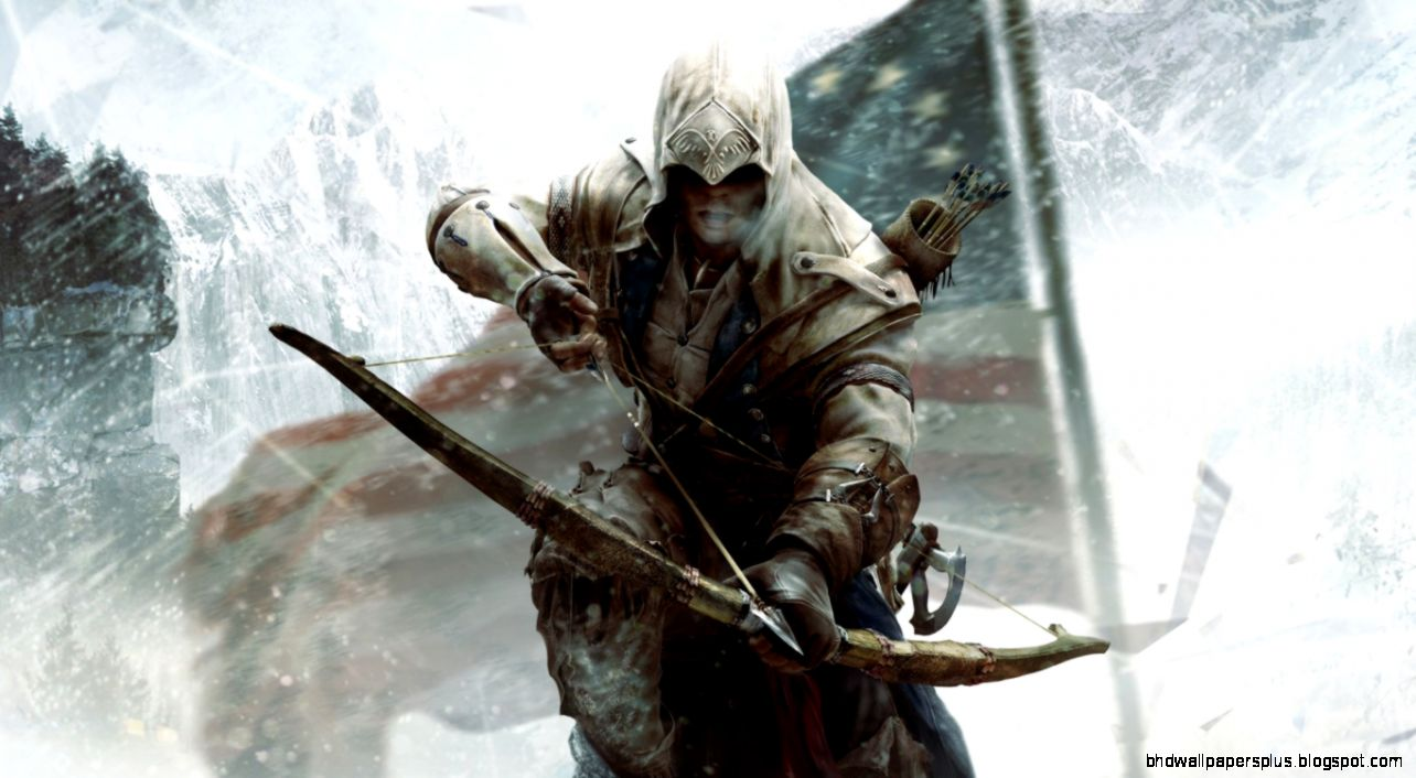 Assassins Creed 3 Connor Bow HD desktop wallpaper  High