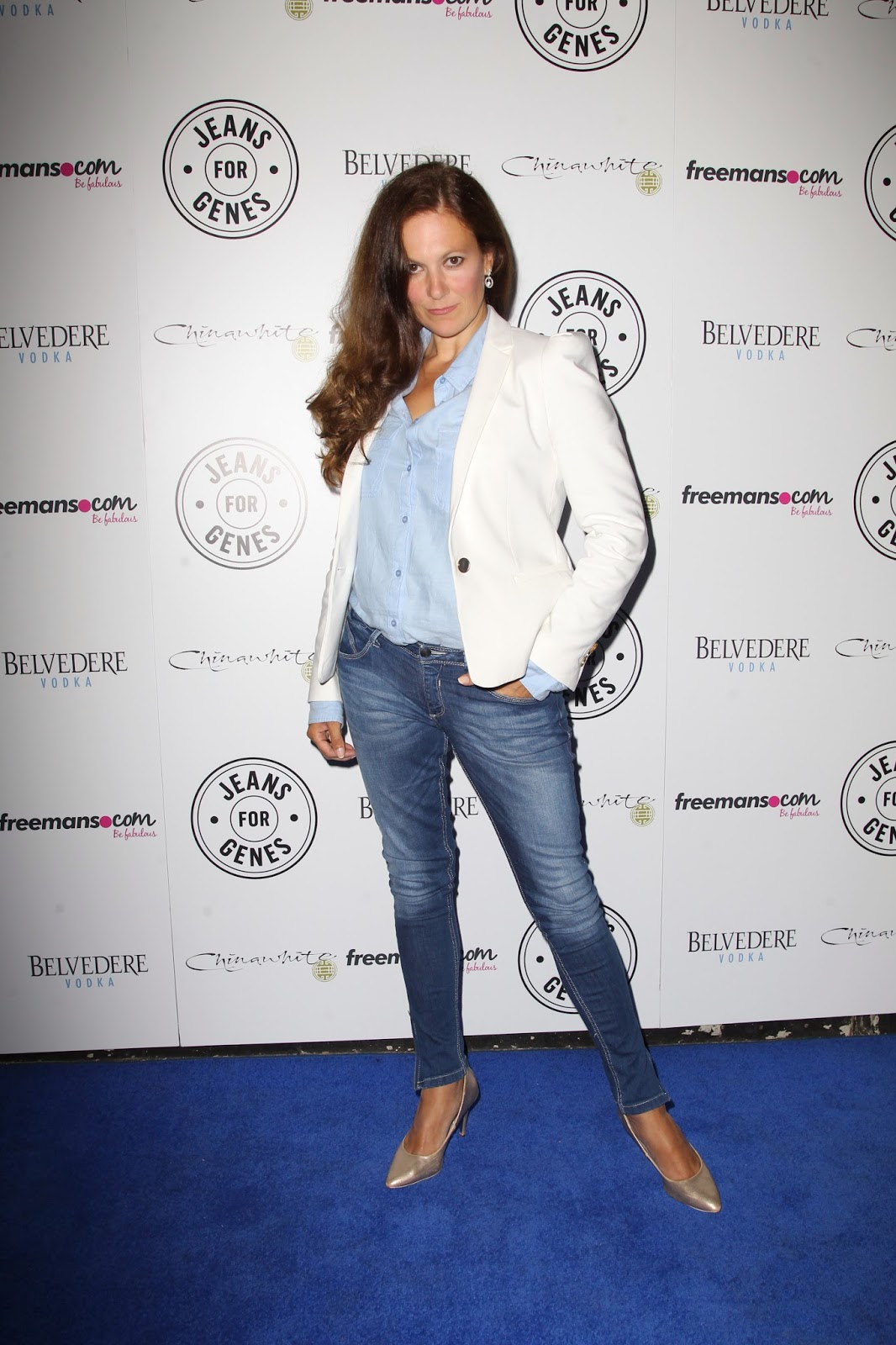 What to wear to Jeans for Genes launch party
