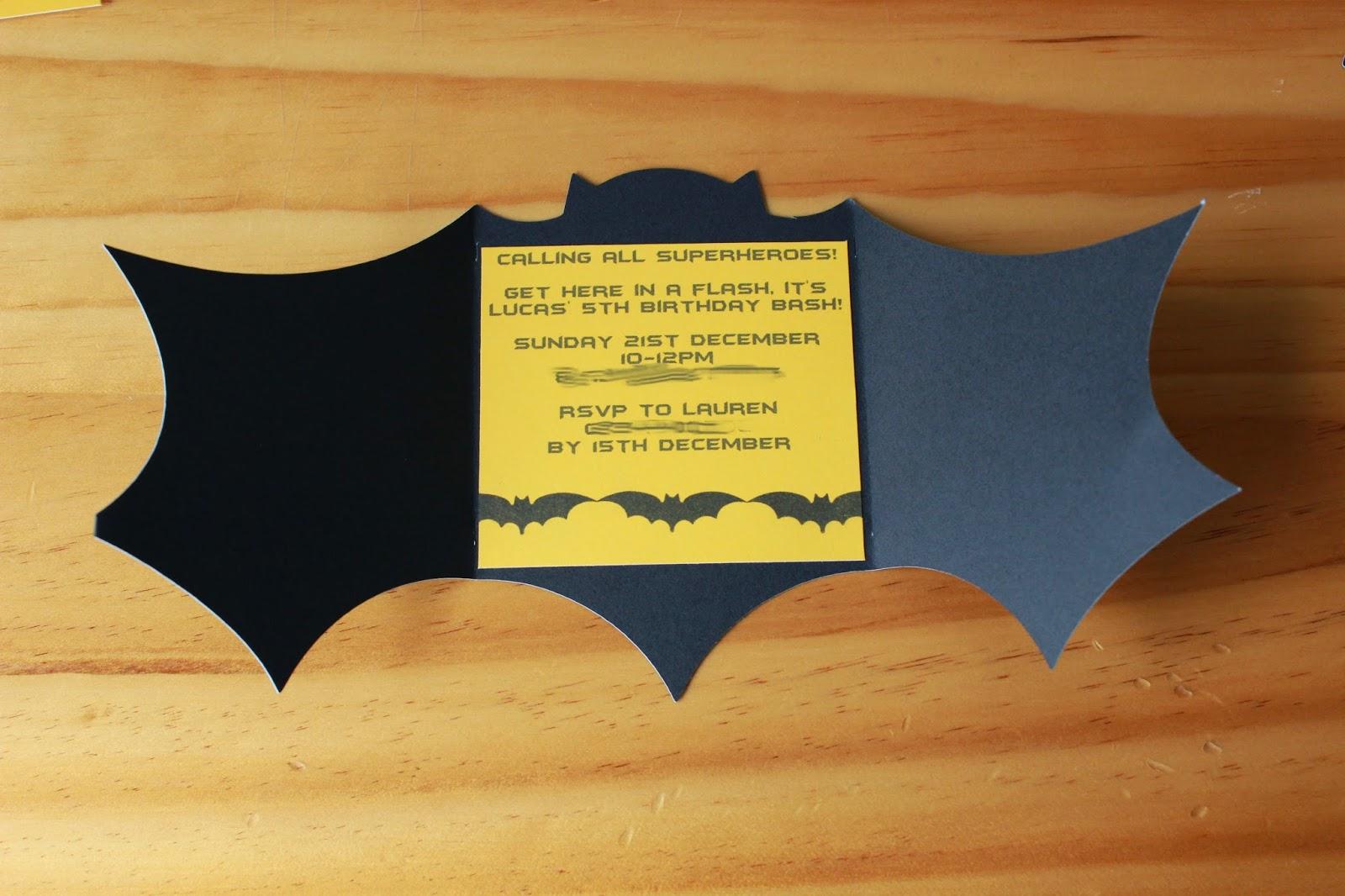SAHM I am- Stay At Home Mum: Batman Birthday Party