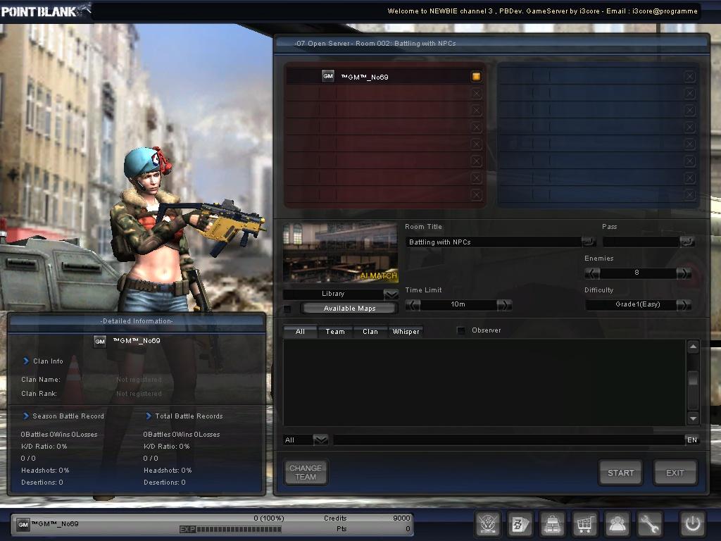 Pointblank offline gaming: pointblank offline change mode.