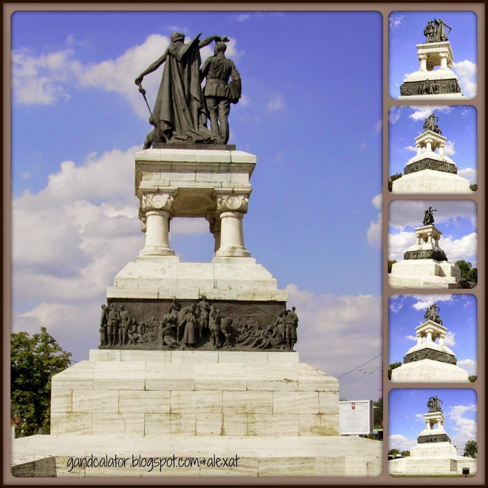 """""""Monumentul Eroilor Sanitari, operă a sculptorului italian Raffaello Romanelli, se află în Piața Operei din București, la intersecția Splaiului Independenței cu Bulevardul Eroilor Sanitari, în vecinătatea Operei Naționale și a Facultății de Medicină. Monumentul este înscris la poziția nr. 2284, cu codul B-III-m-B-19955, în Lista monumentelor istorice, actualizată prin Ordinul ministrului Culturii și Cultelor, nr.2314/8 iulie 2004.   Monumentul Eroilor Sanitari a fost înălțat în anul 1932, în timpul mandatului primarului Bucureștiului Dem. I. Dobrescu și este închinat memoriei medicilor, sanitarilor, surorilor voluntare care au salvat vieți pe fronturile Primului Război Mondial."""" Read more on Wikipedia"""