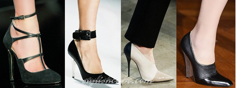 Fall 2013 Women's Fashion Shoes Trends