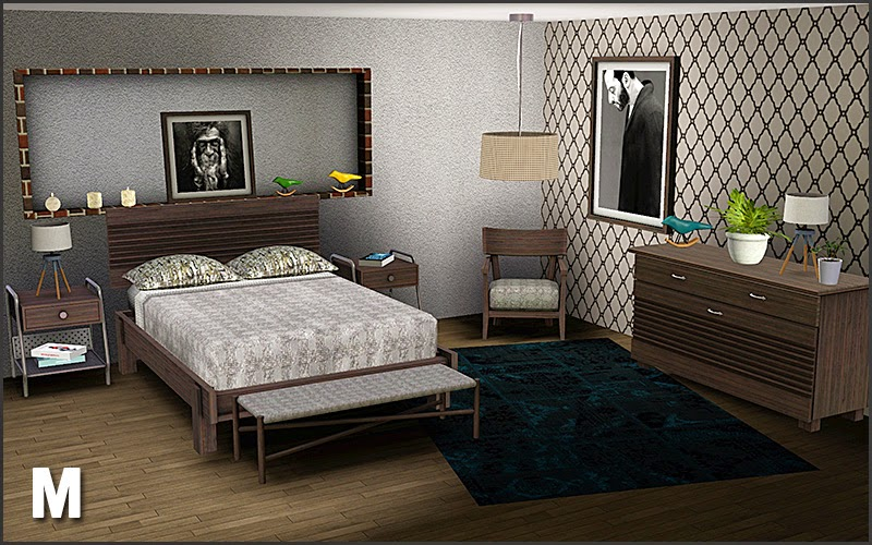 My Sims 3 Blog Boston Bedroom Set By Mango Sims