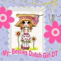 DT-lid bij My Besties Dutch girls designs