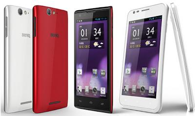nuevos Smartphones BenQ A3 y F3