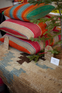 rugs and pillows by Virginia Davidson Interior