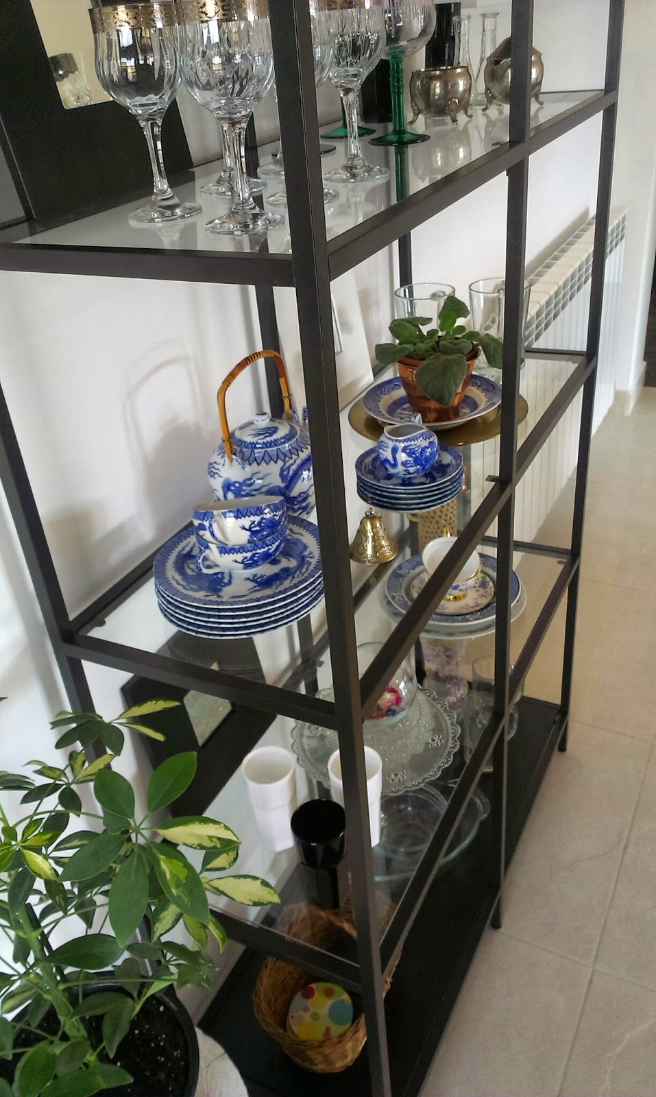 By ozana new ikea metal etagere - Etagere 4 cases ikea ...