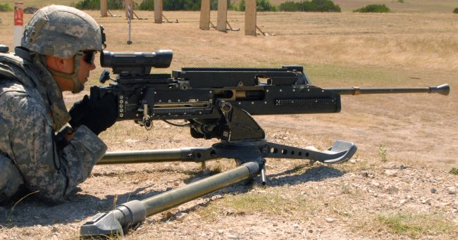 us machine guns