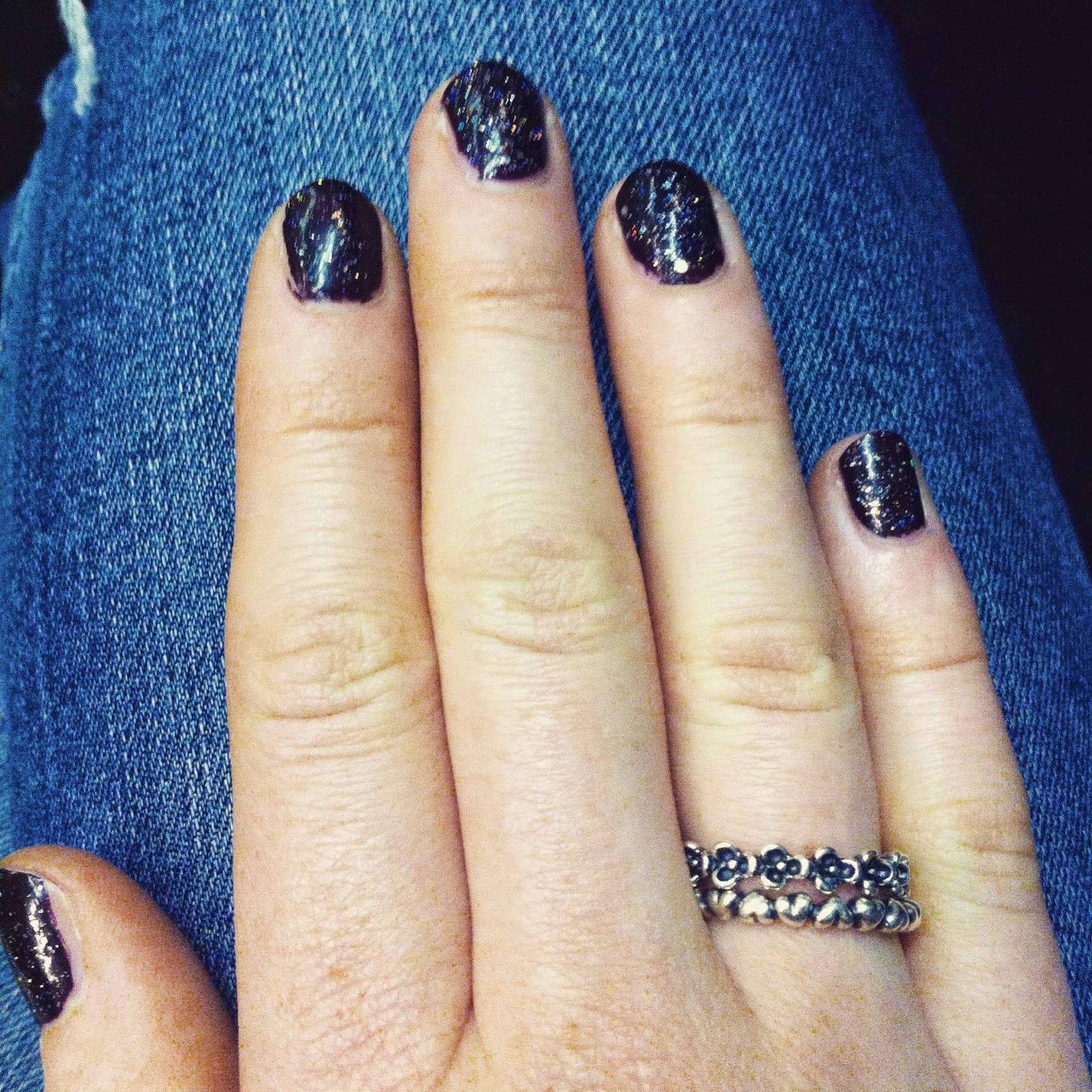 Nails Of The Day with OPI and Barry M