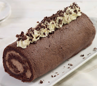Chocolate Chestnut Roulade Recipe