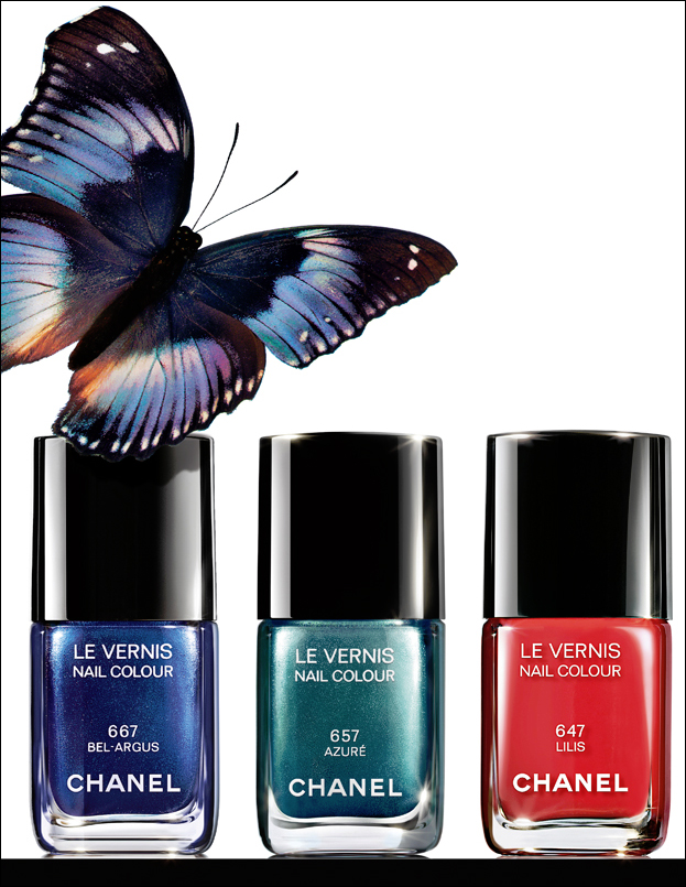 tynamakeup vernis chanel n 667 bel argus du bleu oui mais pas n 39 importe lequel. Black Bedroom Furniture Sets. Home Design Ideas