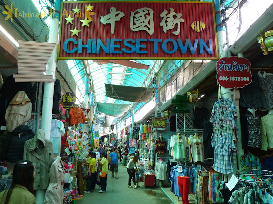 Chinatown in Mae Sai, Thailand